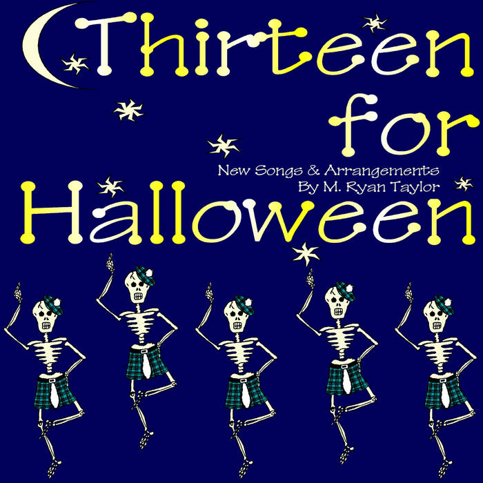 Thirteen for Halloween cover art