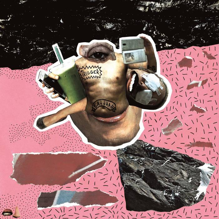 BATTRA// x TRIGGER SPLIT cover art
