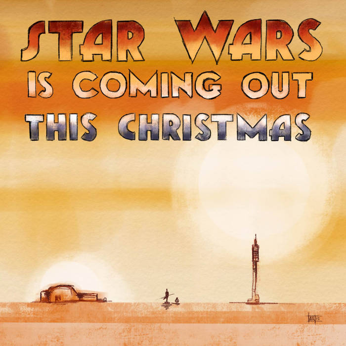 Star Wars (Is Coming Out This Christmas) EP cover art