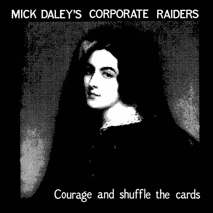 Courage and shuffle the cards cover art