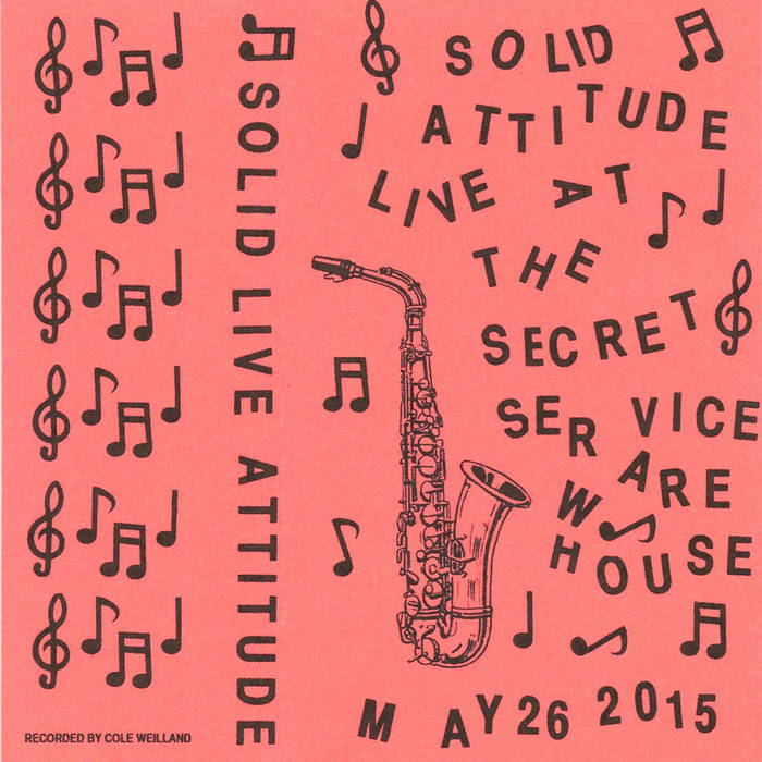 Live at Secret Service 5.26.2015 cover art