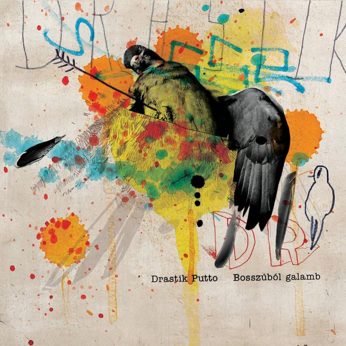 Bosszúból galamb cover art