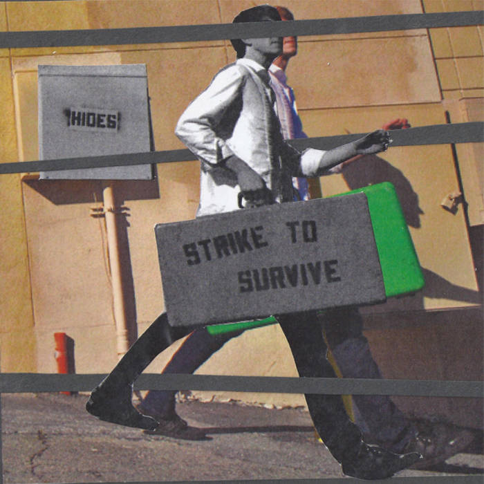 Strike to Survive/Hides Split EP cover art