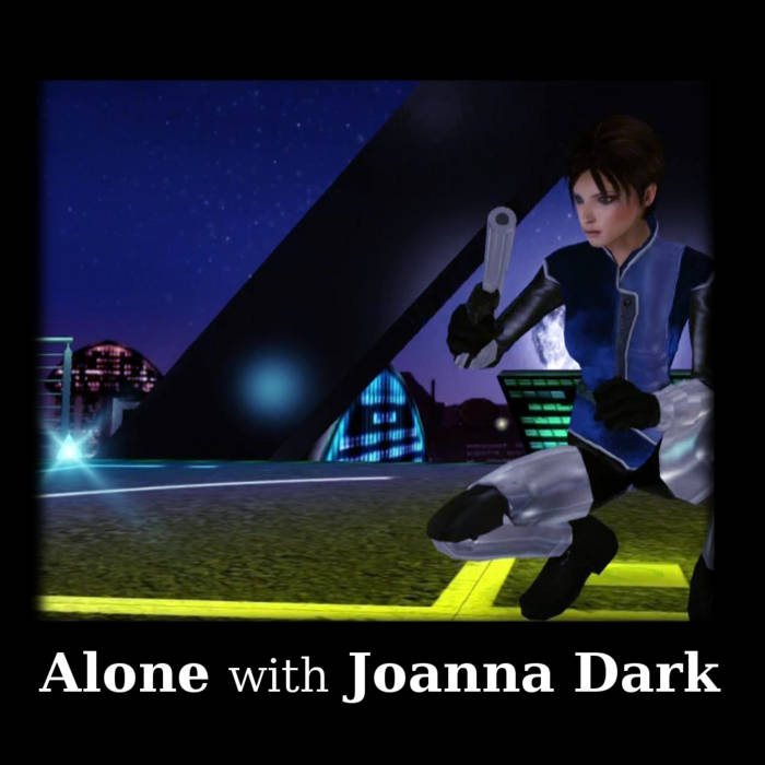 Alone with Joanna Dark cover art