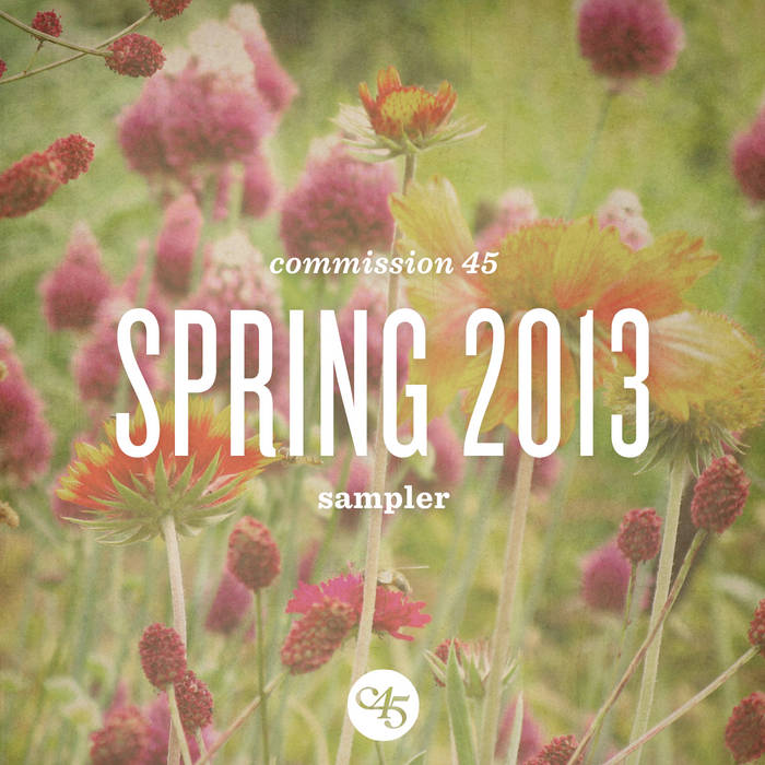 Spring 2013 Sampler cover art