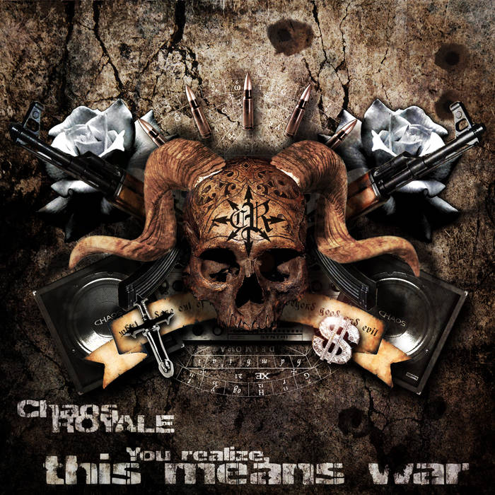 You realize, this means war cover art