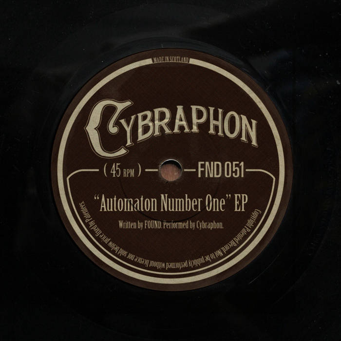 Automaton Number One EP cover art