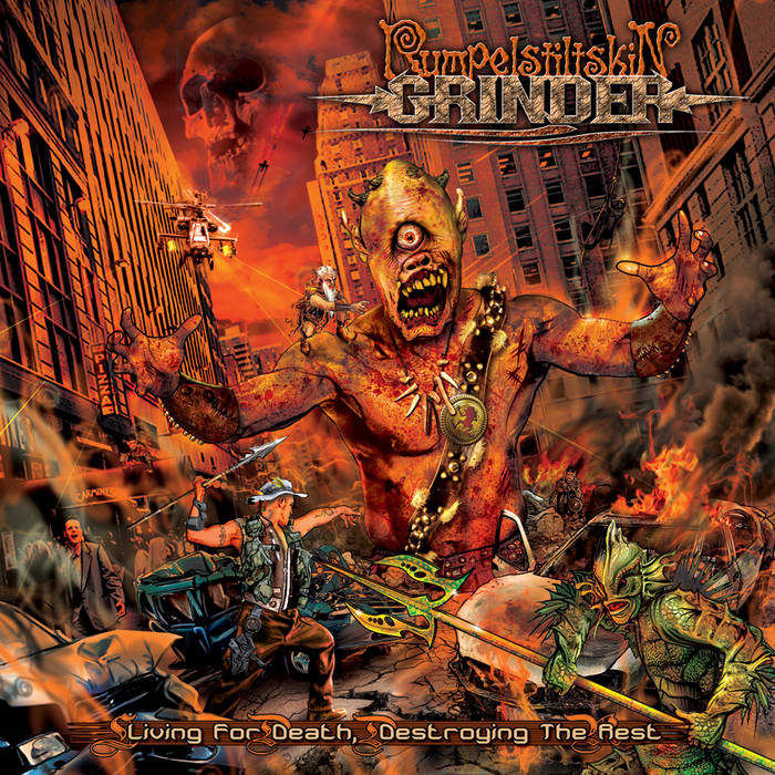Living for Death, Destroying the Rest cover art