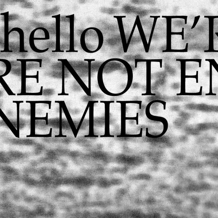 Hello We're Not Enemies cover art