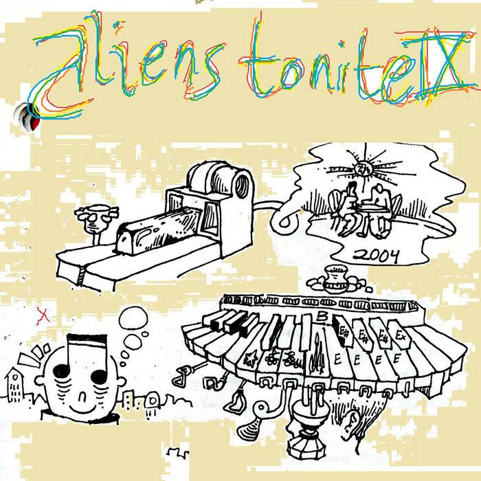 Aliens Tonite 9 cover art