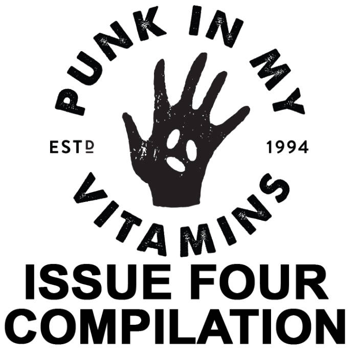 PNMV Issue Four Zine & Compilation cover art