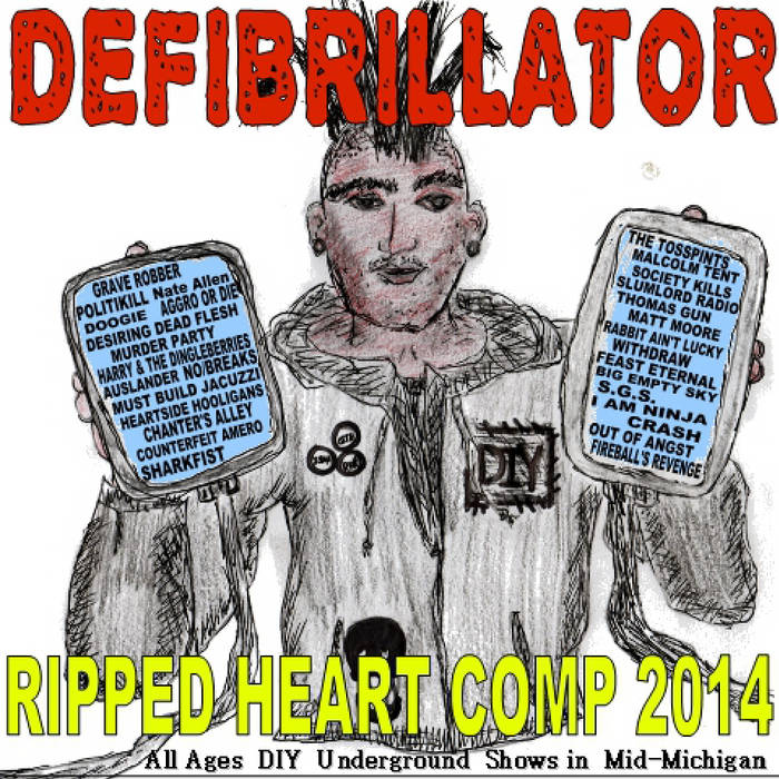 Defibrillator - Ripped Heart Comp 2014 cover art