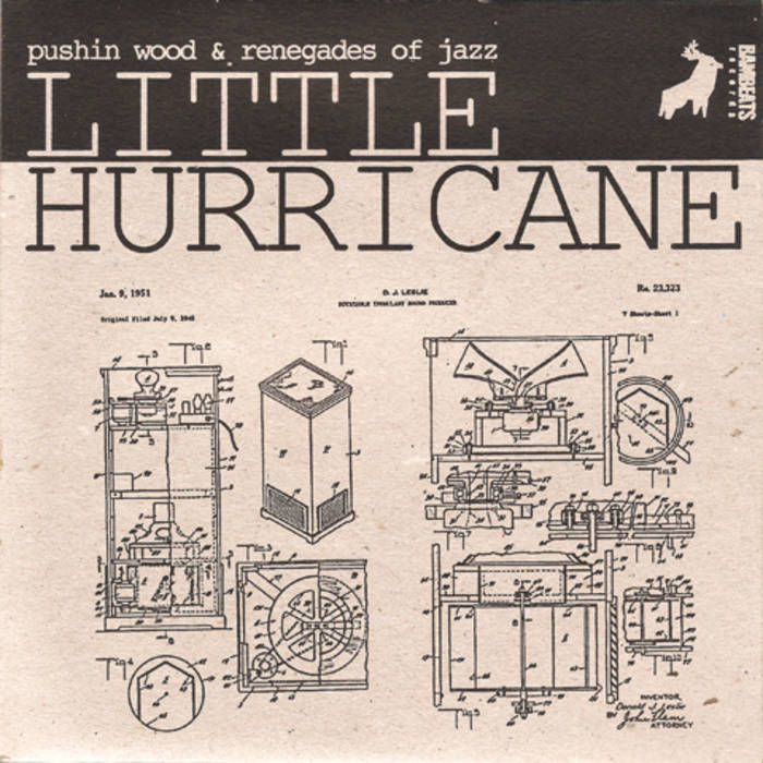 "Little Hurricane 7"" (SOLD OUT) cover art"