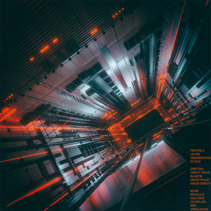 LO-TEK UNDERGROUND EP cover art