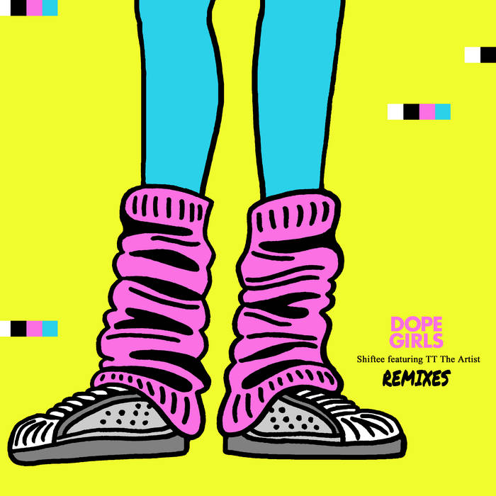 MOM020: Shiftee ft. TT The Artist - Dope Girls REMIXES cover art