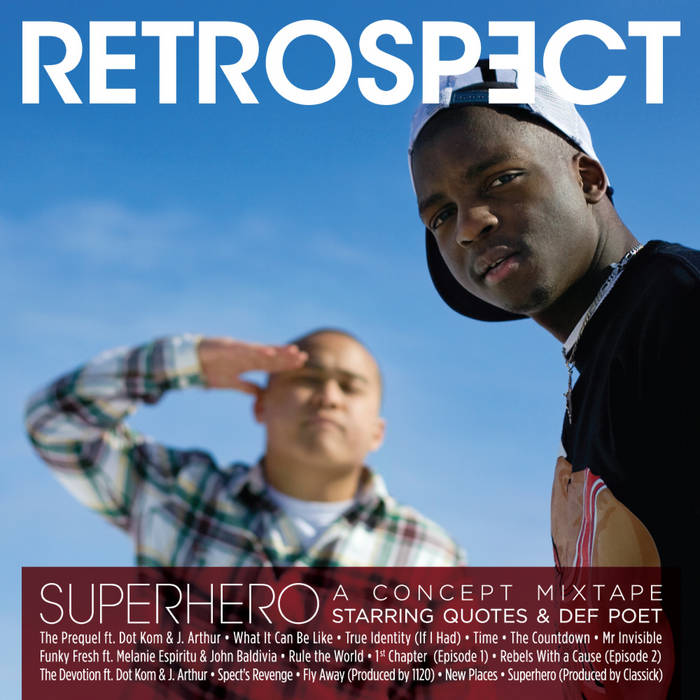 Superhero cover art