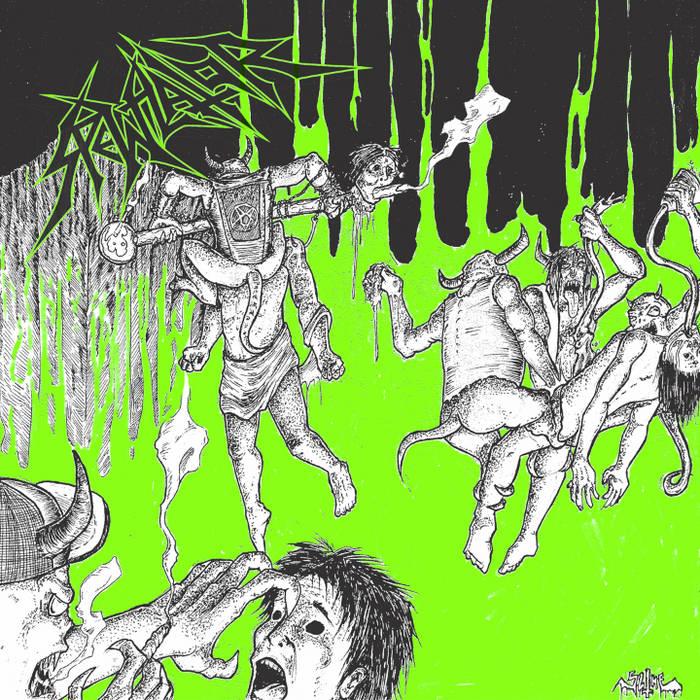 """Inhale Awaits 7"""" cover art"""