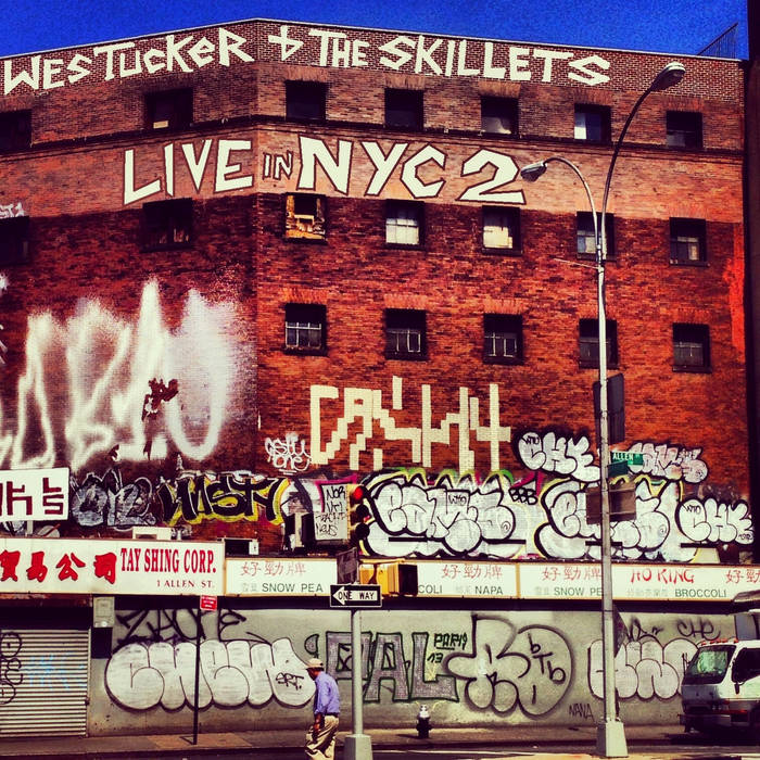 Live in NYC 2 cover art