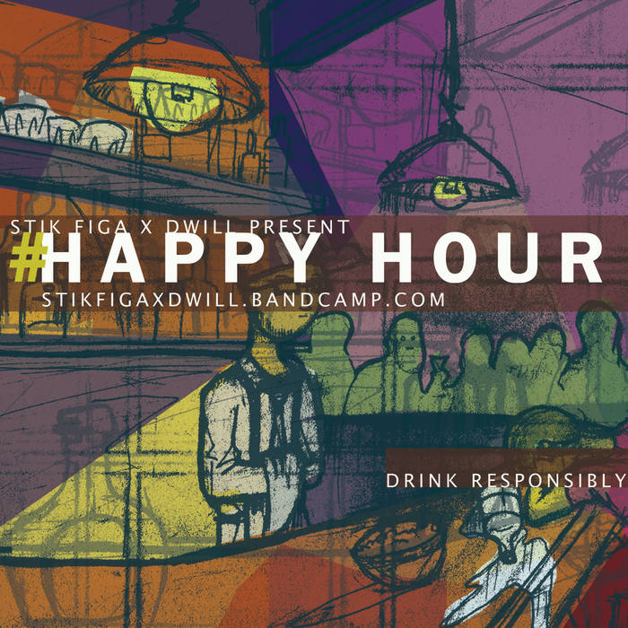 #HappyHour cover art