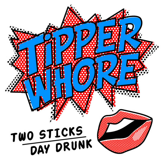 "Two Sticks / Day Drunk 7"" cover art"