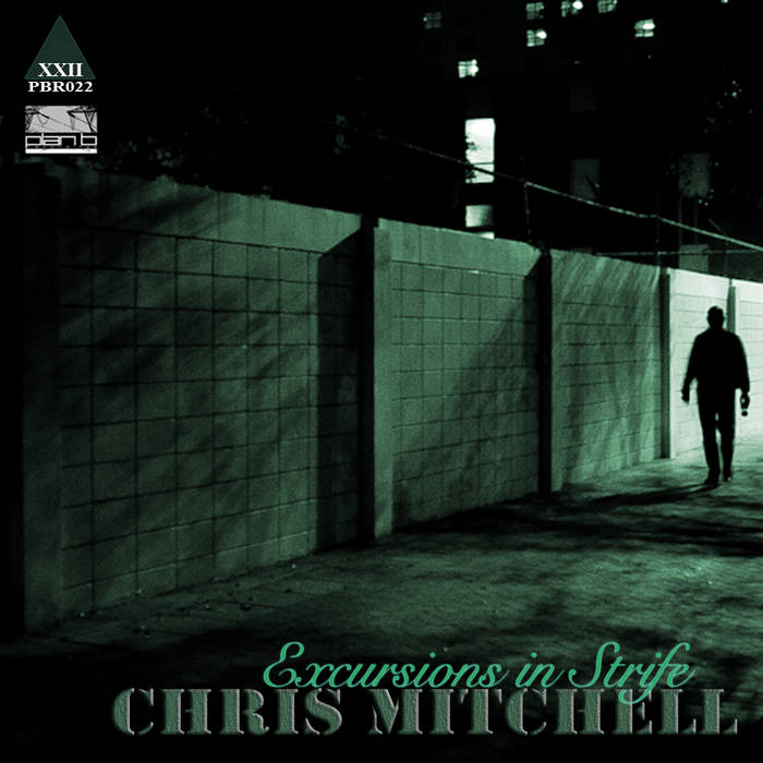 """Excursions In Strife EP"" - Chris Mitchell (digital) cover art"