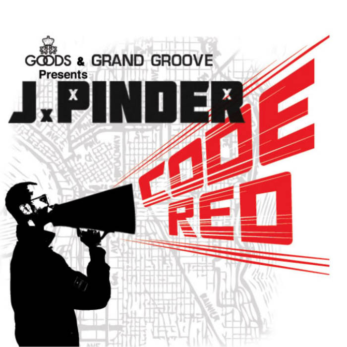 J.Pinder - The Code Red EP cover art