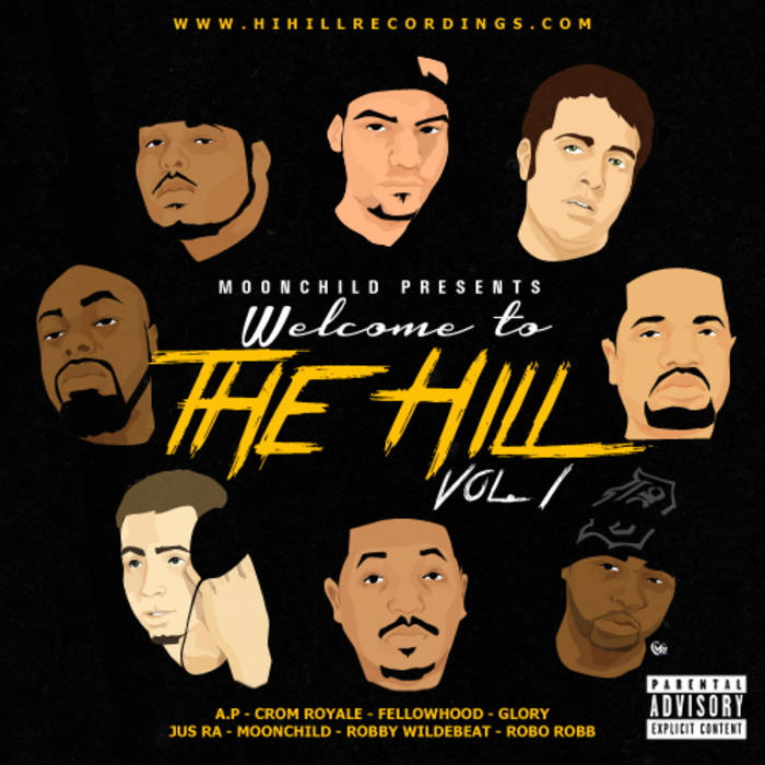 Moonchild Presents: Welcome to the Hill Vol. 1 cover art