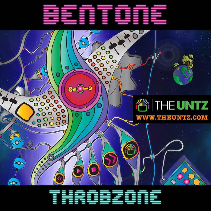 Bentone - Throbzone EP cover art