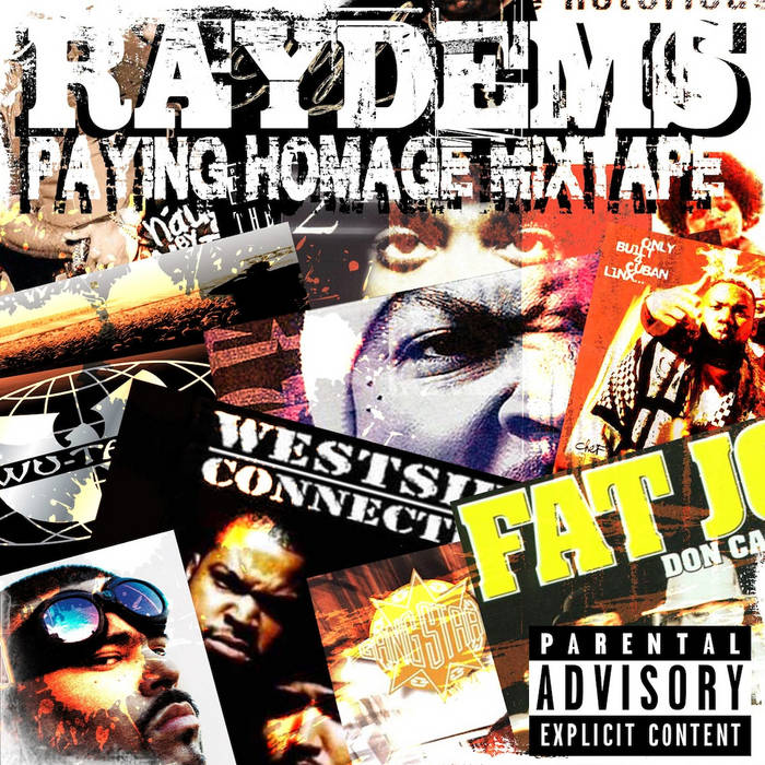 Paying Homage Mixtape cover art