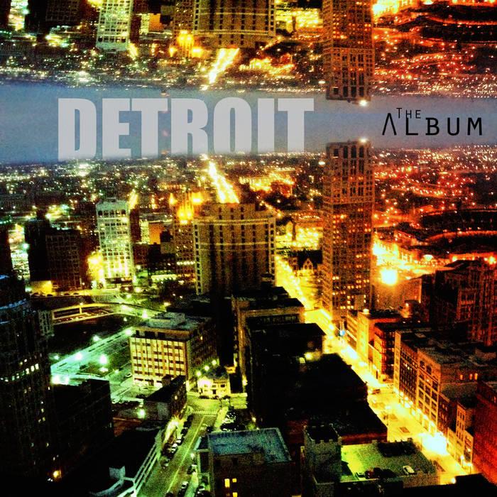 DETROIT theAlbum cover art