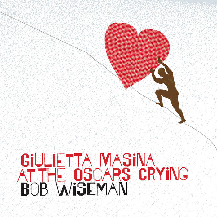 Giulietta Masina at the Oscars Crying cover art