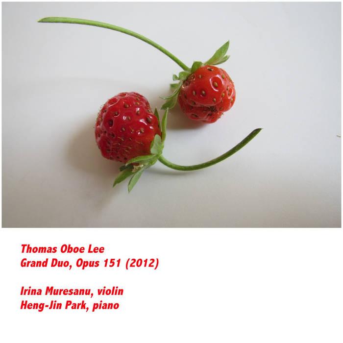 Grand Duo, opus 151 (2012) cover art