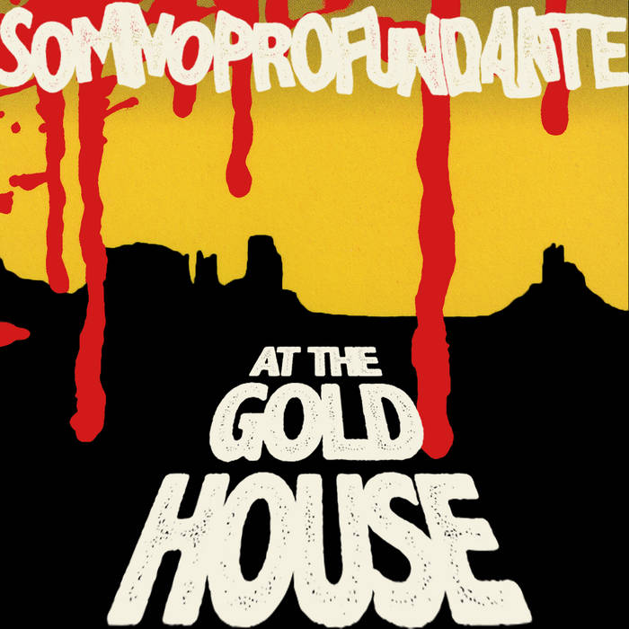 AT THE GOLD HOUSE cover art