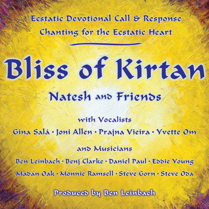 Bliss of Kirtan cover art