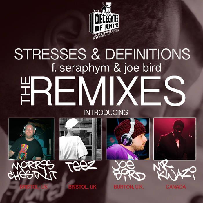 Stresses & Definitions Remixes f. Seraphym & Joe Bird cover art