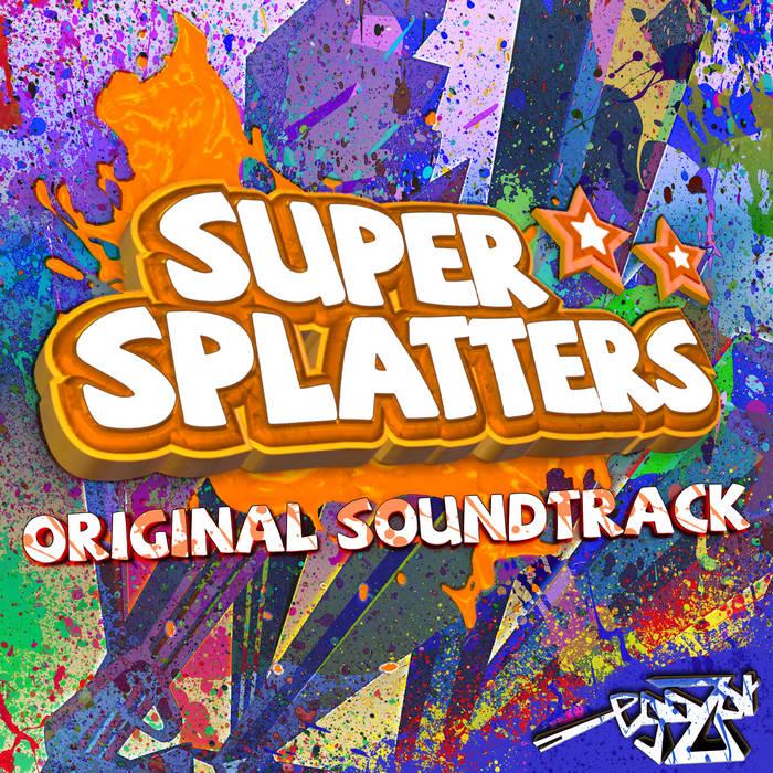Super Splatters OST cover art