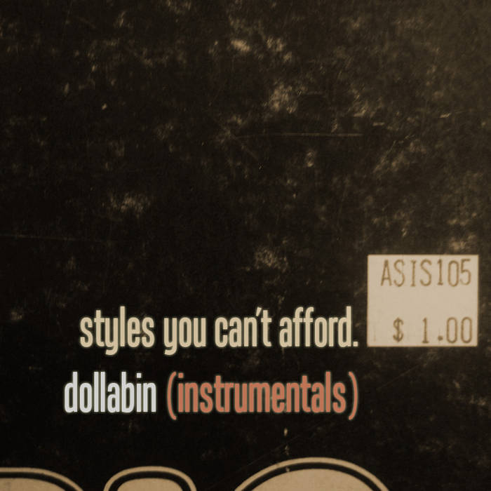 Styles You Can't Afford (Instrumentals) cover art