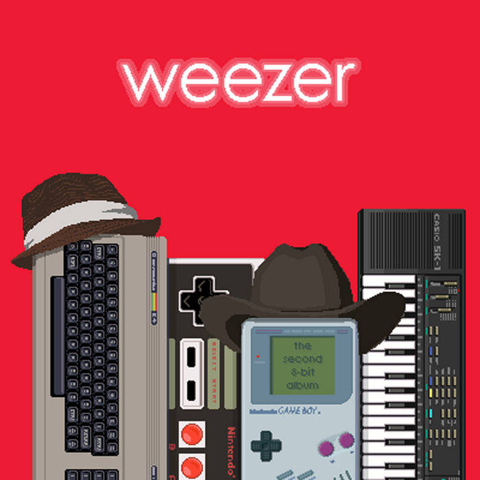 Weezer - The Second 8-bit Album cover art