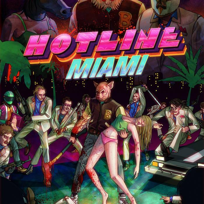 Hotline Miami Soundtrack cover art