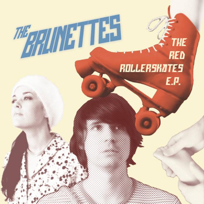 The Red Rollerskates E.P. cover art