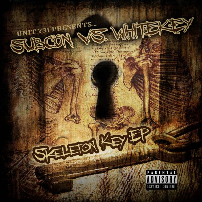 Subcon Vs. White Key-Skeleton Key EP cover art