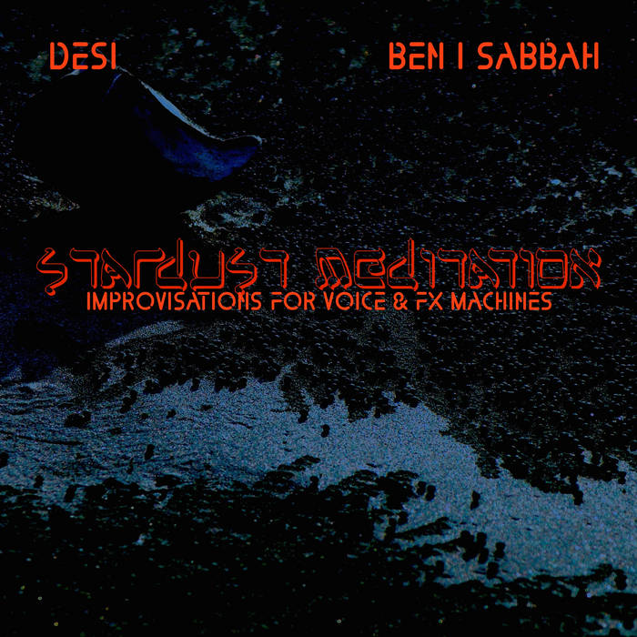 Stardust Meditation (Soundscapes for Voice and FX Machines) cover art