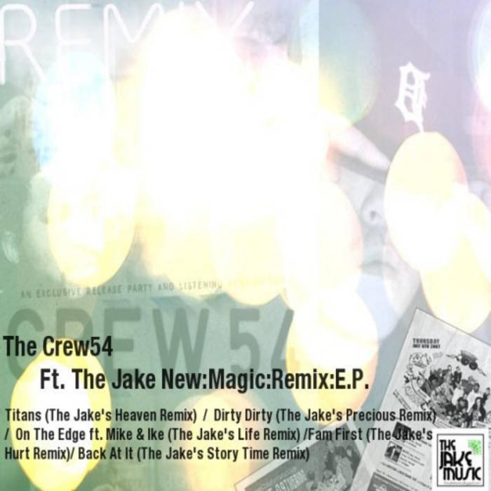 Crew54 ft. The Jake: New Magic Remix EP cover art