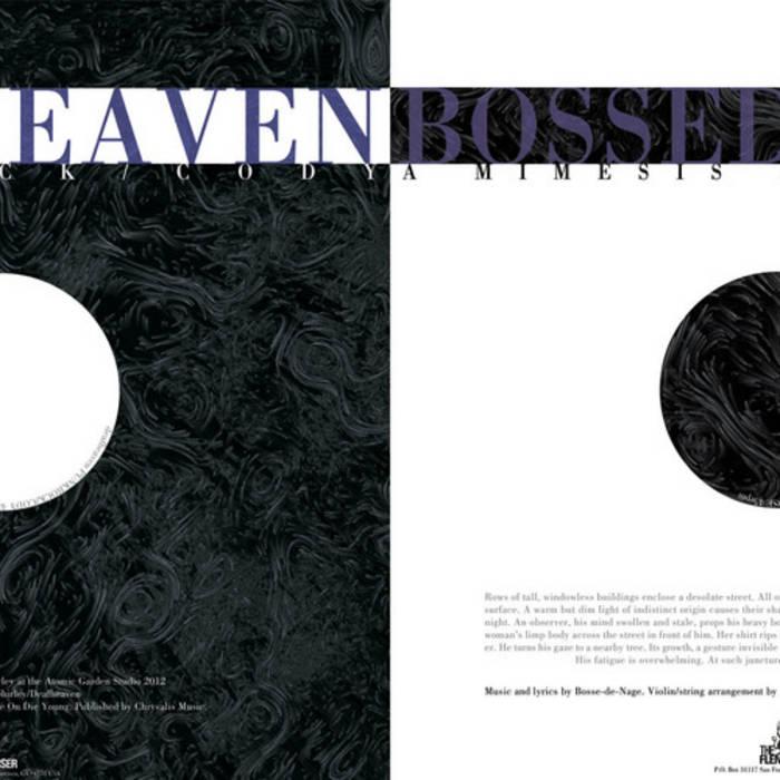 "Deafheaven/Bosse-de-Nage split 12"" cover art"