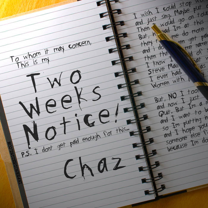 Two Week's Notice cover art