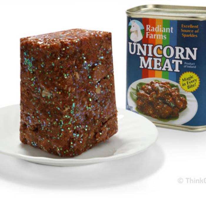 Industrial Unicorns-5000 dollar dinner cover art