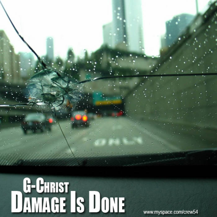 G-Christ - Damage Is Done cover art