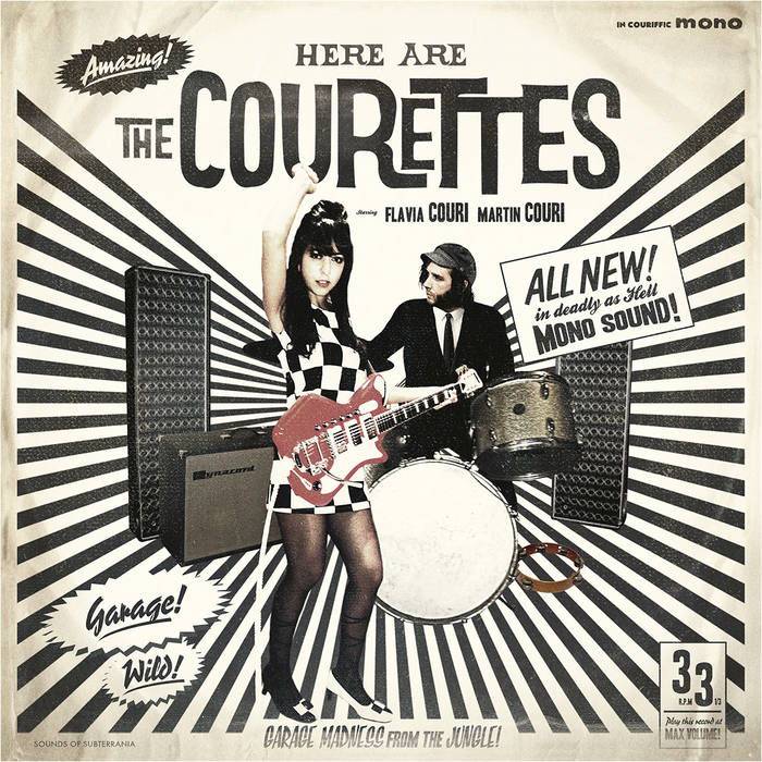 Here are the Courettes! cover art