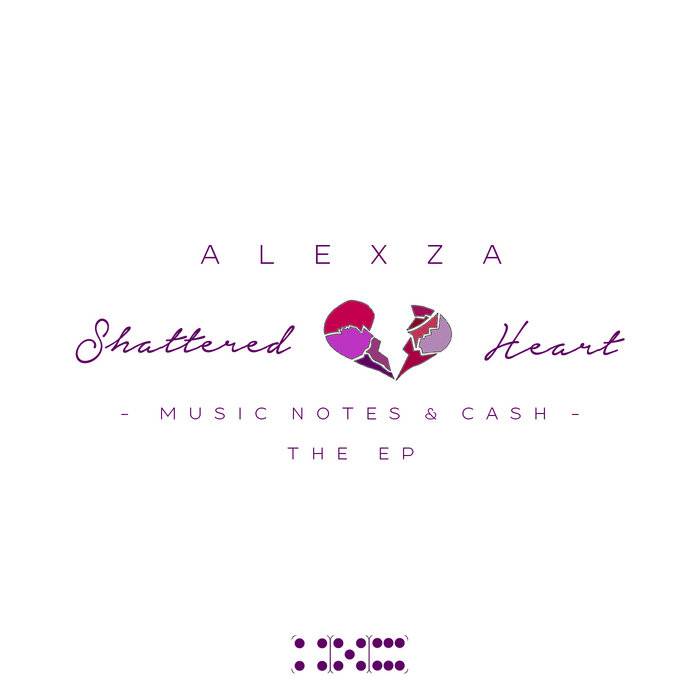 Shattered Heart, Music Notes & Cash: The EP cover art