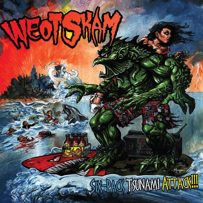 """""""Six-Pack Tsunami Attack!!!"""" cover art"""